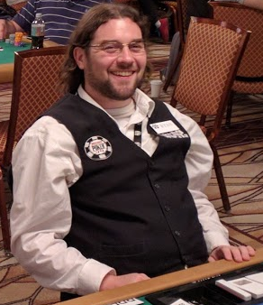 Ryan Sackett poker dealer