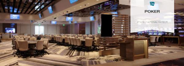 MGM National Harbor poker room