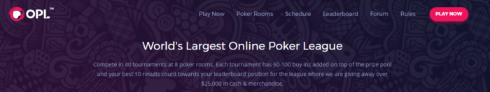 Online Poker League