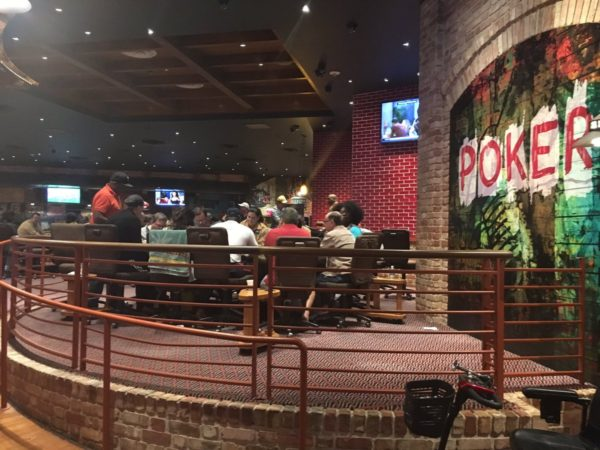 Beau Rivage poker room
