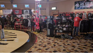 27b59c958 Hats, hoodies, card protectors, chips, T-shirts, lighters, pins, keychains…  you name it; all for sale with the WSOP logo. WSOP shop