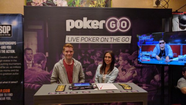 Poker Central booth