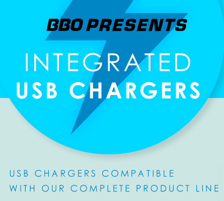 BBO Poker Tables USB chargers