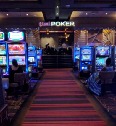 Maryland Live poker room