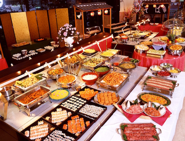 Kings Casino buffet