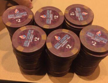 Agua Cliente poker chips