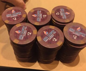 Agua Cliente poker chips