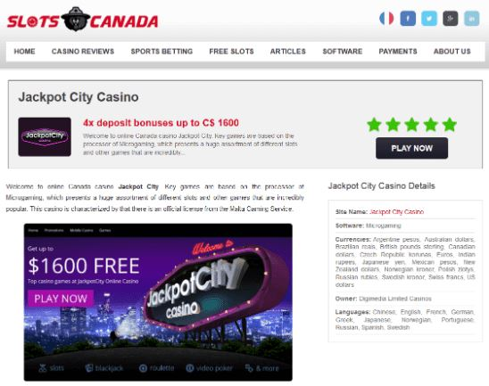slots Canada