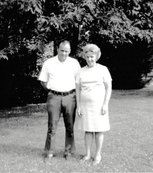 Frank Hoerst Jr. and his wife, Mary