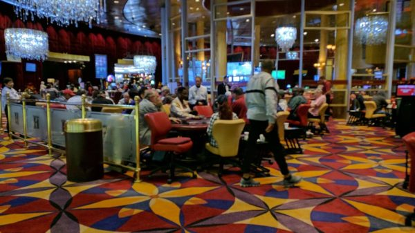 Hustler Casino poker room