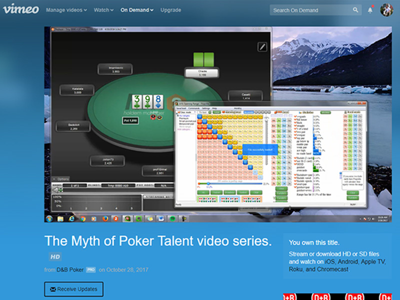 Review: The Myth of Poker Talent (Video Series) | Cardplayer Lifestyle