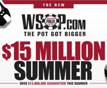 15 million WSOP