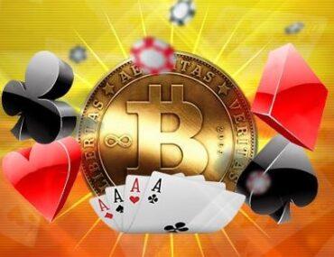 Bicoin poker
