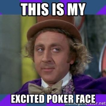 excited poker