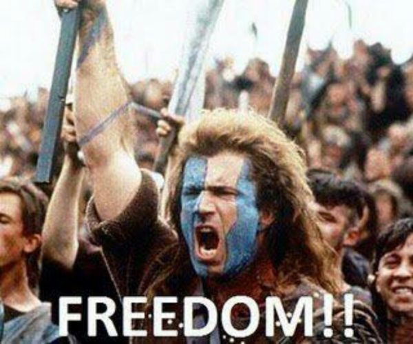 William Wallace freedom