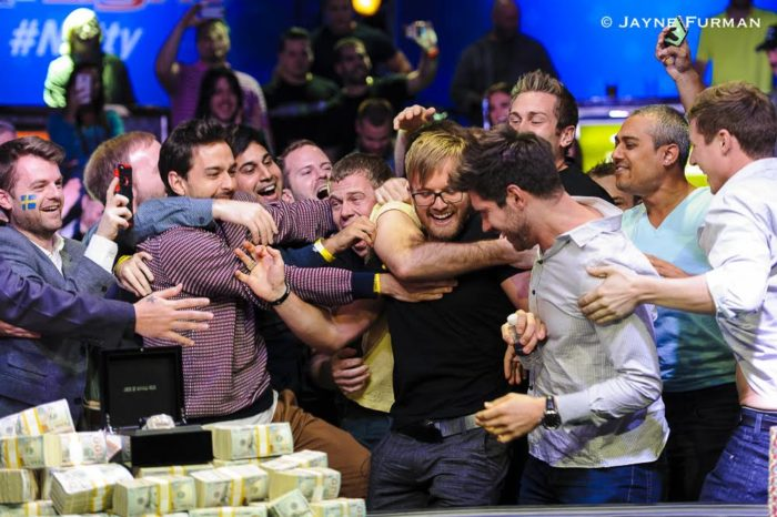 Martin Jacobson wins the 2014 WSOP Main Event