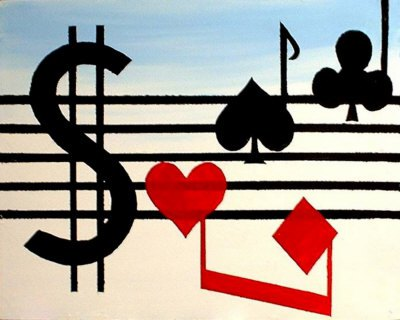 Music and Poker