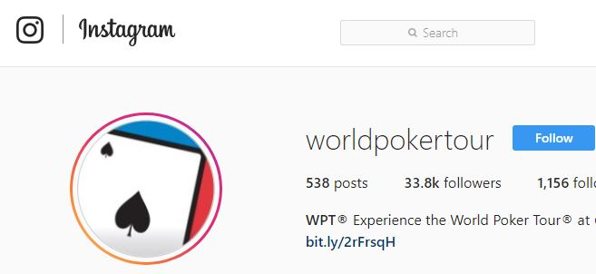 WPT instagram
