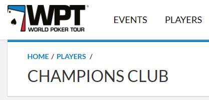 WPT Champions club