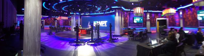 PokerGO studio panorama