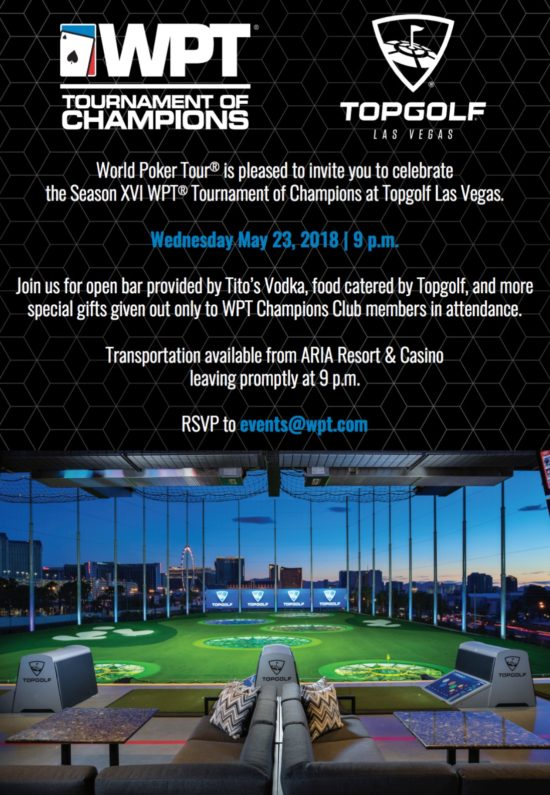 WPT Top Golf Party