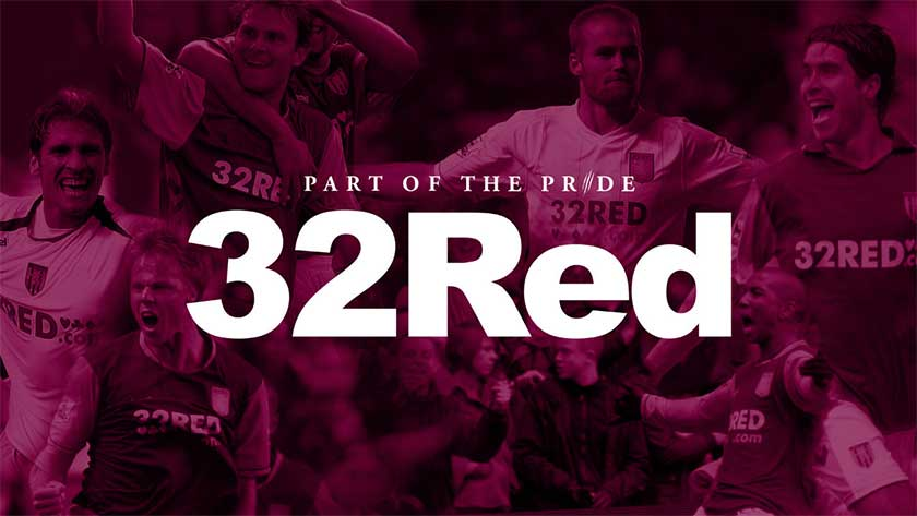 32Red sponsorship Aston Villa football club