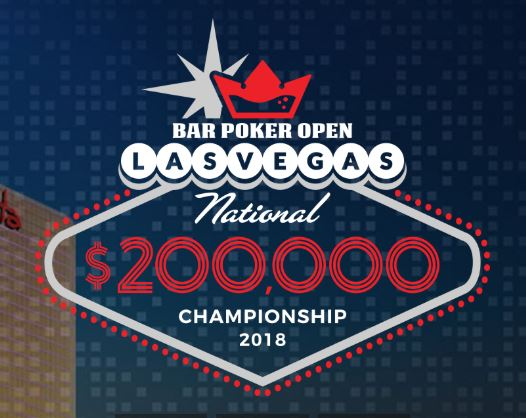 2018 Bar Poker Open National Championship