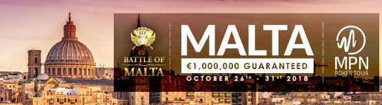 Battle of Malta poker tournament