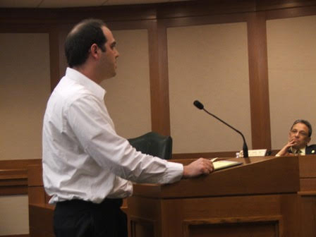 Dan Michalski courtroom