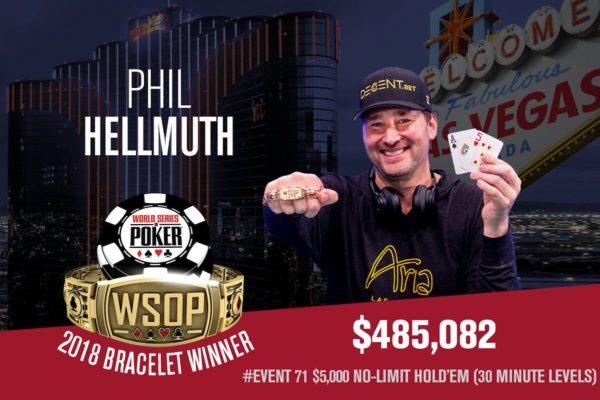Phil Hellmuth 15th bracelet