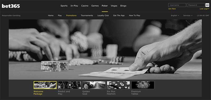 Bet365 poker signup bonus