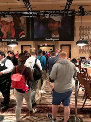 WSOP break time