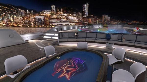 PokerStars VR yacht