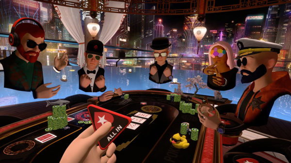 PokerStars VR table