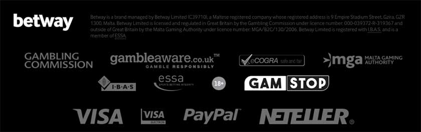Betway poker licensing