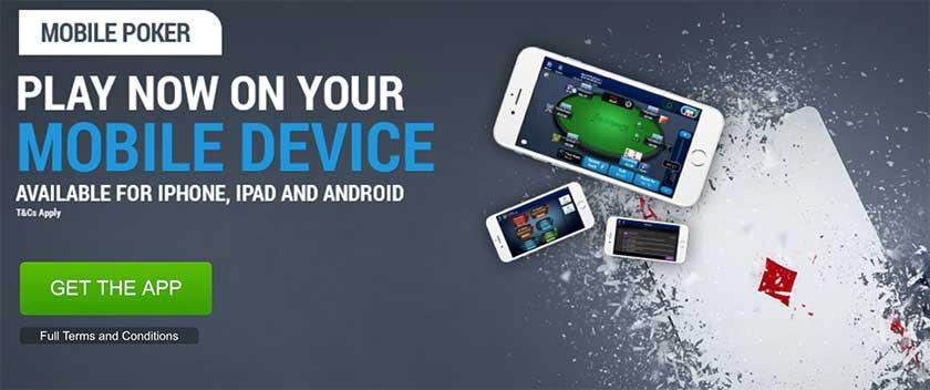 BoyleSports Poker mobile player