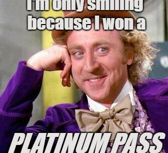 Willy Wonka Platinum Pass