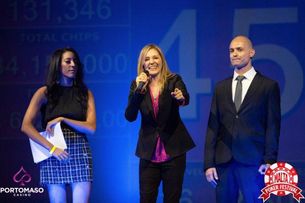 Ivonne Montealegre Malta Poker Festival