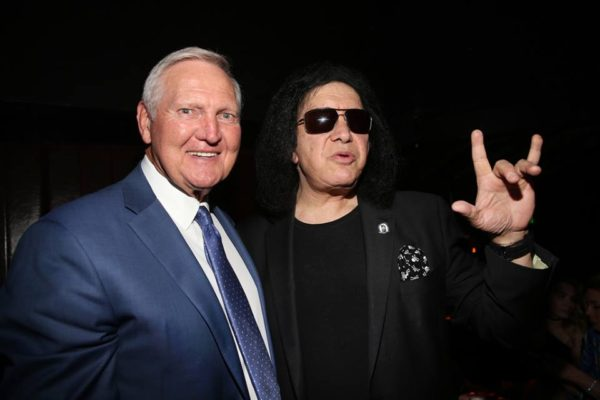 Gene Simmons Jerry West
