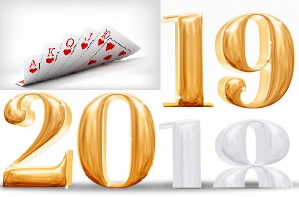 2019 poker new year