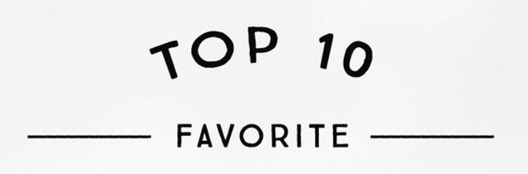 favorite top 10