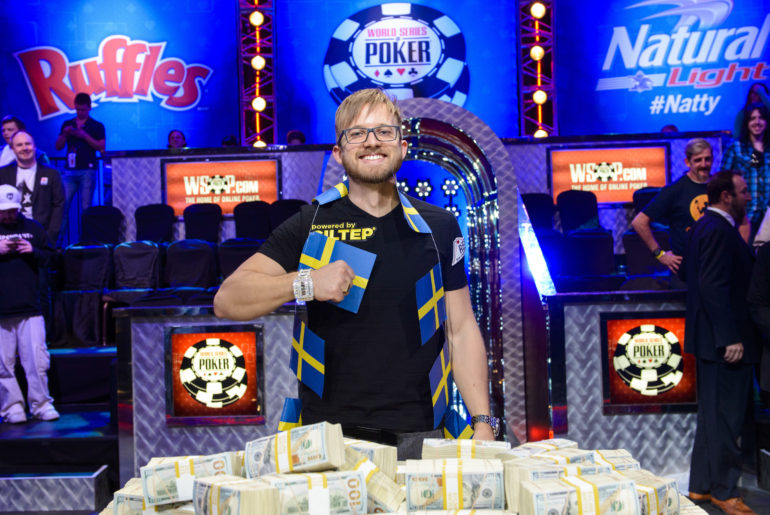 2014 WSOP Main Event Winner Martin Jacobson