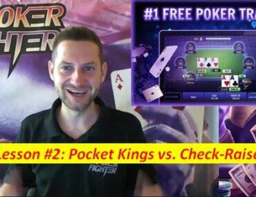 Stas Poker Fighter Pocket Kings vs. Check-Raise