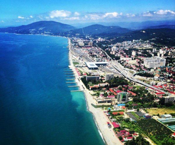 Sochi coast