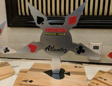 iNinja Atlantis trophy