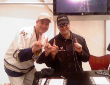 Mike and Phil Hellmuth