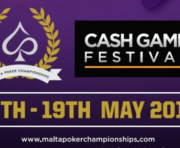 Malta Poker Festival Cash Game Festival