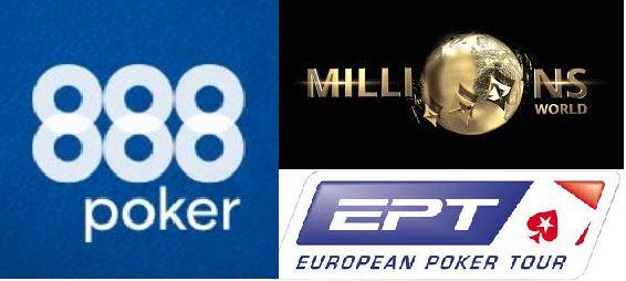 888poker MILLIONS, EPT