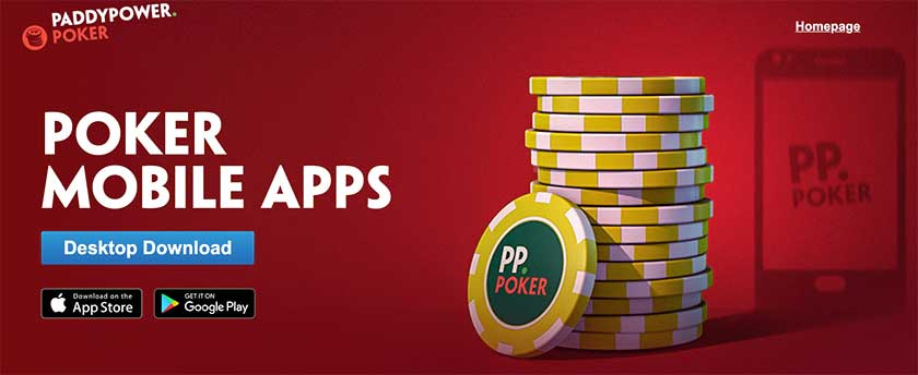 Paddy Power poker mobile