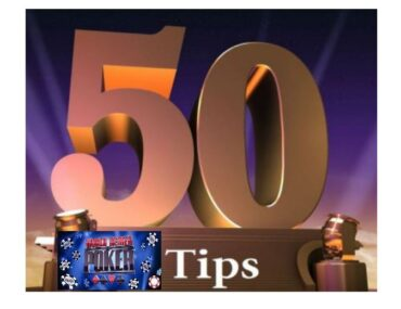 50 WSOP Tips